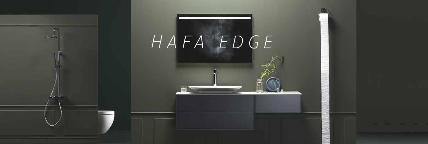 Hafa Edge bathroom furniture